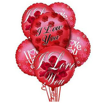 'I Love You' Balloons