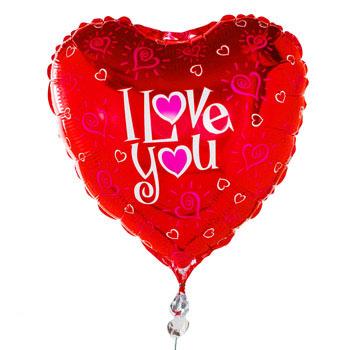 'I Love You' Balloon