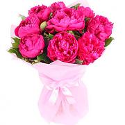 Bouquet  peonies
