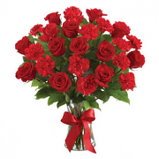 Carnation & Roses Bouquet