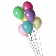 Seven Latex Balloons