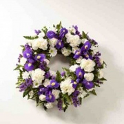 Classic Selection Wreath Funeral Flowers
