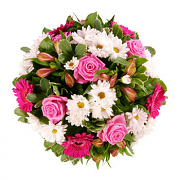 Pink Funeral Posy