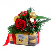 "Bouquet ""Christmas present"""