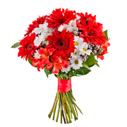 Red mixed bouquet