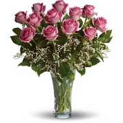 Dosen Pink Roses Bouquet