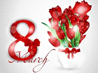 Send flowers to Chisinau,Moldova on Women's Day 8th March - chisinauflowers.com